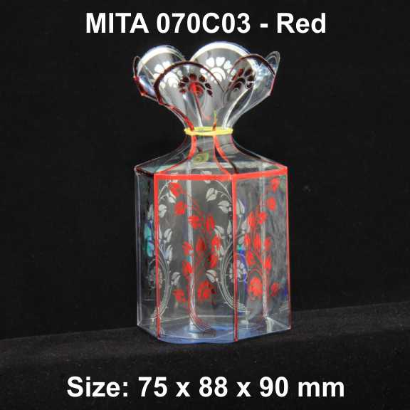 070C03 Red Pack of 10