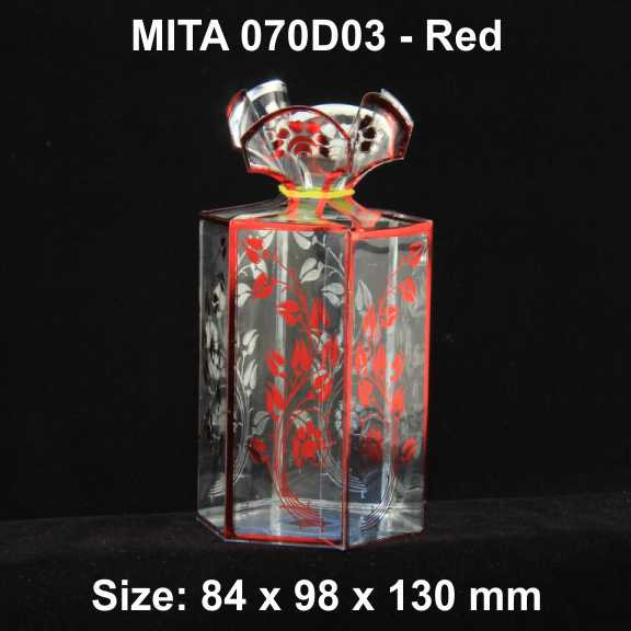 070D03 Red Pack of 10