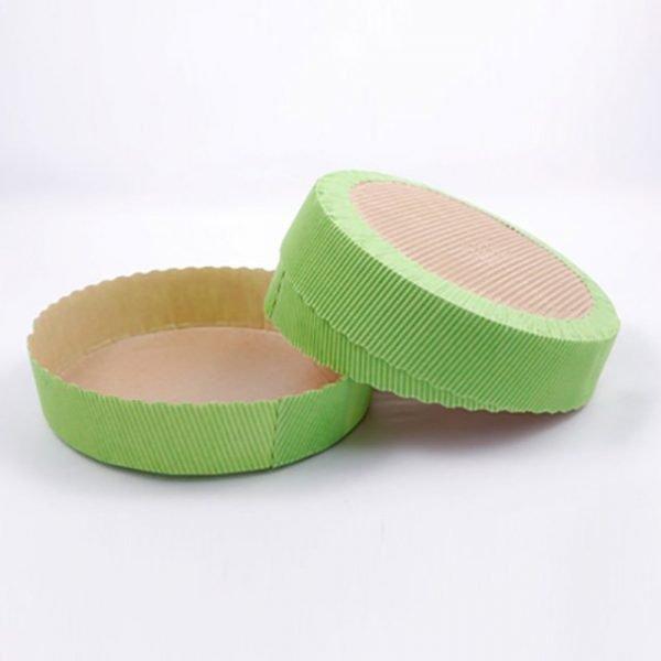 Round Cake Green 250gm Pack of 10