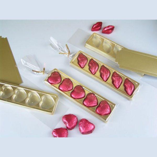 5 Choco Heart Pack of 10