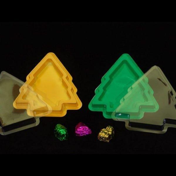 X'mas Tree Box Yellow Pack of 25