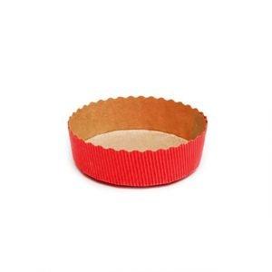 Round Cake Red 100gm Pack of 10