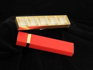 5 Cav Long Box Red Pack of 10