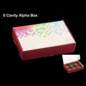 Alpha Box 6 Pack of 10