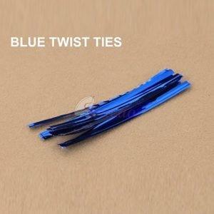 Blue Twist Tie pack of 400