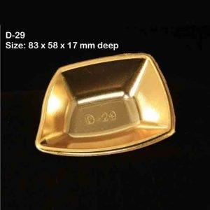Metallic  D29 Pack of 100