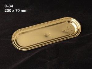 Metallic D34 Pack of 50
