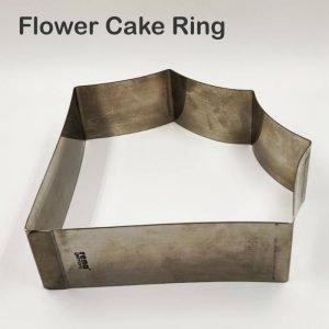 Flower Cake Ring 225 x 50