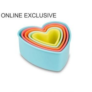 Heart Cookie Cutter Set of 5