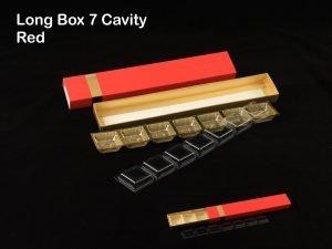 7 Cav Long Box Red Combo Pack of 10
