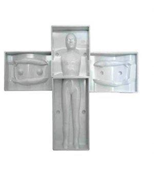 3D Fondant Man Mould