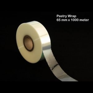 Clear Pastry Wrap 65mm x 1000m