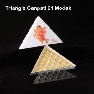 Ganpati Triangle Box 21 Pack of 10